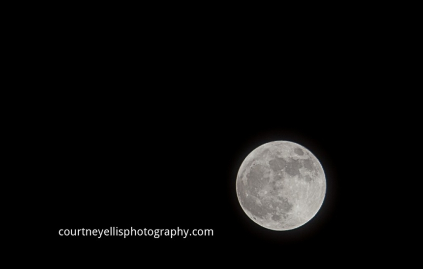Super Moon 2012 over Louisville KY