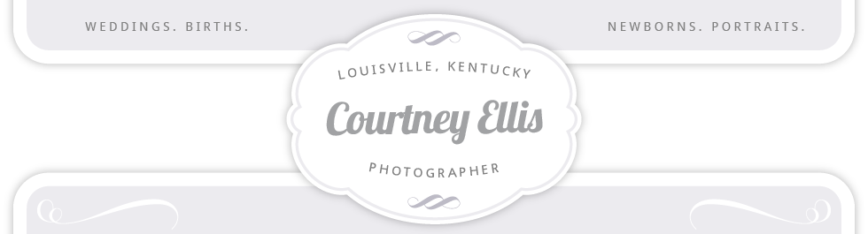Louisville Wedding and Portrait Photographer | Courtney Ellis Photography logo